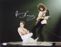 Brian May Signed Queen 11x14 Photo (PSA COA) at PristineAuction.com