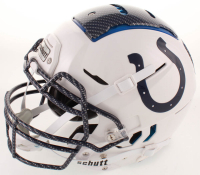 Jacoby Brissett Signed Colts Full-Size Authentic On-Field Hydro-Dipped F7 Helmet (JSA COA) at PristineAuction.com