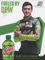 Chase Elliott Signed NASCAR 8.5x11 Print (JSA COA) at PristineAuction.com