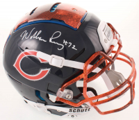 William Perry Signed Bears Full-Size Authentic On-Field Hydro-Dipped F7 Helmet (Beckett COA) at PristineAuction.com