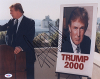 Donald Trump Signed 11x14 Photo (PSA LOA) at PristineAuction.com