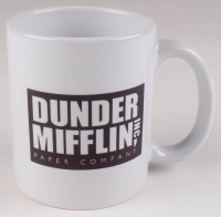 "Steve Carell Signed ""The Office"" Dunder Mifflin Paper Company, Inc. World's Best Boss Coffee Mug (PSA COA) at PristineAuction.com"