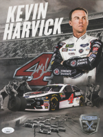Kevin Harvick Signed NASCAR 8.5x11 Print (JSA COA) at PristineAuction.com