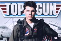 "Tom Cruise Signed ""Top Gun"" 12x18 Photo (PSA COA) at PristineAuction.com"