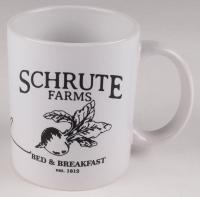 "Rainn Wilson Signed ""The Office"" Schrute Farms Bed & Breakfast Coffee Mug (PSA COA) at PristineAuction.com"