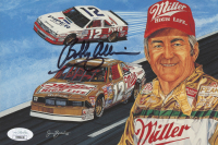 Bobby Allison Signed NASCAR 5.75x8 Print (JSA COA) at PristineAuction.com