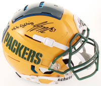 """Jordy Nelson Signed Packers Full-Size Authentic On-Field F7 Helmet Inscribed """"White Lightning"""" (Beckett COA) at PristineAuction.com"""