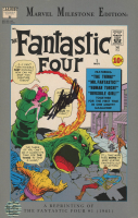 "Stan Lee Signed 1991 ""The Fantastic Four"" Vol. 1 Issue #1 Marvel Comic Book (Reprint) (Lee COA) at PristineAuction.com"
