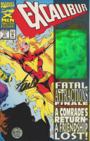 "Stan Lee Signed 1993 ""Excalibur"" Issue #71 Marvel Comic Book (Lee COA) at PristineAuction.com"