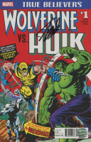 "Stan Lee Signed 2017 ""True Believers Wolverine vs. Hulk"" Issue #1 Marvel Comic Book (Lee COA) at PristineAuction.com"