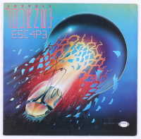 "Steve Perry Signed Journey ""Escape"" Vinyl Record Album Cover (PSA COA) at PristineAuction.com"