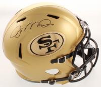 Joe Montana Signed 49ers Full-Size Speed Helmet (JSA COA) at PristineAuction.com