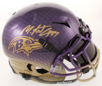 Mark Andrews Signed Ravens Full-Size Authentic On-Field Hydro-Dipped Vengeance Helmet with Mirrored Visor (JSA COA) at PristineAuction.com
