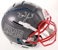 Daniel Jones Signed Giants Full-Size Authentic On-Field Hydro Dipped F7 Helmet (JSA Hologram) at PristineAuction.com