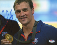 Ryan Lochte Signed Team USA 8x10 Photo (PSA Hologram) at PristineAuction.com