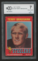 Terry Bradshaw 1971 Topps #156 RC (BCCG 7) at PristineAuction.com