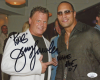 "Jerry Lawler Signed WWE 8x10 Photo Inscribed ""WWE HOF 07"" & ""King"" (JSA COA) at PristineAuction.com"