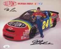 Jeff Gordon Signed NASCAR 8x10 Print (JSA COA) at PristineAuction.com