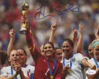 Hope Solo Signed Team USA 8x10 Photo (JSA COA) at PristineAuction.com