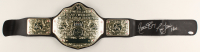 "Ric Flair Signed WWE World Heavyweight Wrestling Championship Belt Inscribed ""Nature Boy"" & ""16x"" (Sports Collectibles COA) at PristineAuction.com"