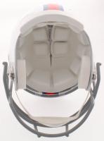 "Joe DeLamielleure Signed Bills Throwback Full-Size Helmet Inscribed ""HOF '03"" (Beckett COA) at PristineAuction.com"