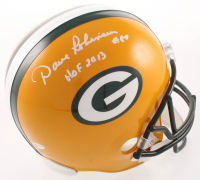 """Dave Robinson Signed Packers Full Size Helmet Inscribed """"HOF 2013"""" (Beckett COA) at PristineAuction.com"""