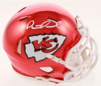 Patrick Mahomes Signed Kansas City Chiefs Chrome Mini Speed Helmet (JSA COA) at PristineAuction.com