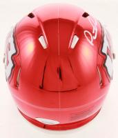 Patrick Mahomes Signed Kansas City Chiefs Chrome Mini Speed Helmet (JSA COA) at PristineAuction.com