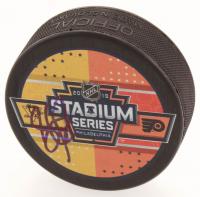 Sidney Crosby Signed 2019 Stadium Series Logo Hockey Puck (JSA COA) at PristineAuction.com