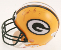 Brett Favre Signed LE Packers Micro Helmet (JSA COA) at PristineAuction.com