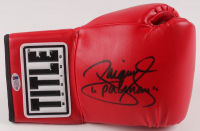 "Manny Pacquiao Signed Title Boxing Glove Inscribed ""Pacman"" (Beckett COA) at PristineAuction.com"