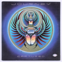 "Steve Perry Signed Journey ""Captured"" Vinyl Record Album Cover (PSA COA) at PristineAuction.com"