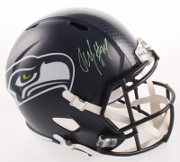 Marshawn Lynch Signed Seahawks Full-Size Speed Helmet (Radtke COA) at PristineAuction.com