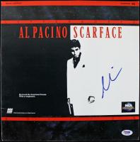 "Al Pacino Signed ""Scarface"" LaserDisc Cover (PSA COA) at PristineAuction.com"