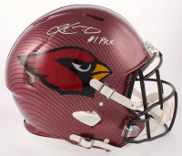 """Kyler Murray Signed Cardinals Full-Size Hydro Dipped Authentic On-Field Speed Helmet Inscribed """"#1 Pick"""" (Beckett COA) at PristineAuction.com"""