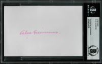 Alec Guinness Signed 3.5x5.5 Postcard (BGS Encapsulated) at PristineAuction.com