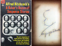 "Alfred Hitchcock Signed ""Alfred Hitchcock's A Baker's Dozen of Suspense Stories"" Softcover Book (Beckett LOA) at PristineAuction.com"