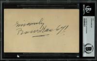 Boris Karloff Signed Postcard (BGS Encapsulated) at PristineAuction.com
