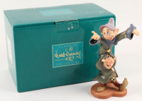 "1999 Vintage Disney LE Snow White & the Seven Dwarfs ""Dancing Partners"" Porcelain Figurine at PristineAuction.com"