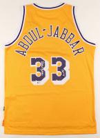 "Kareem Abdul-Jabbar Signed Lakers Jersey Inscribed ""HOF '95"" (Beckett COA) at PristineAuction.com"