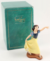 "Vintage Disney Snow White And The Seven Dwarfs ""The Fairest One Of All"" Porcelain Figurine at PristineAuction.com"