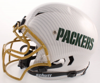 """Jordy Nelson Signed Packers Full-Size Authentic On-Field Hydro Dipped Vengeance Helmet Inscribed """"White Lightning"""" (Beckett COA) at PristineAuction.com"""
