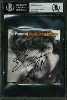 """Bruce Springsteen Signed """"The Essential Bruce Springsteen"""" CD Cover (BGS Encapsulated) at PristineAuction.com"""