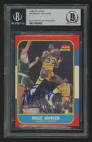 Magic Johnson Signed 1986-87 Fleer #53 (BGS Encapsulated) at PristineAuction.com