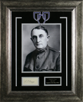 Charles Horace Mayo Signed 18x22 Custom Framed Cut Display (Beckett LOA) at PristineAuction.com
