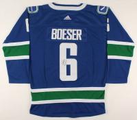 Brock Boeser Signed Canucks Jersey (JSA COA) at PristineAuction.com