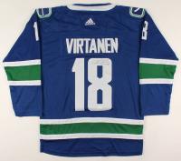 Jake Virtanen Signed Canucks Jersey (JSA COA) at PristineAuction.com
