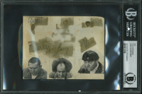 Curly Howard, Larry Fine & Moe Howard Signed Cut (BGS Encapsulated) at PristineAuction.com