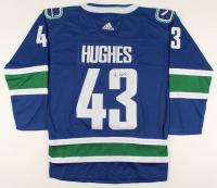 Quinn Hughes Signed Canucks Jersey (JSA COA) at PristineAuction.com