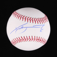 Xander Bogaerts Signed OML Baseball (MLB Hologram & Fanatics Hologram) at PristineAuction.com